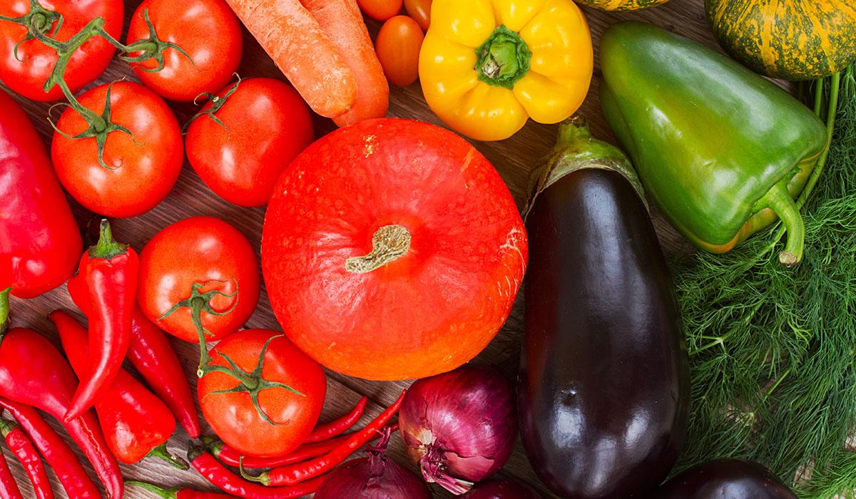 vegetables photo via shutterstock.