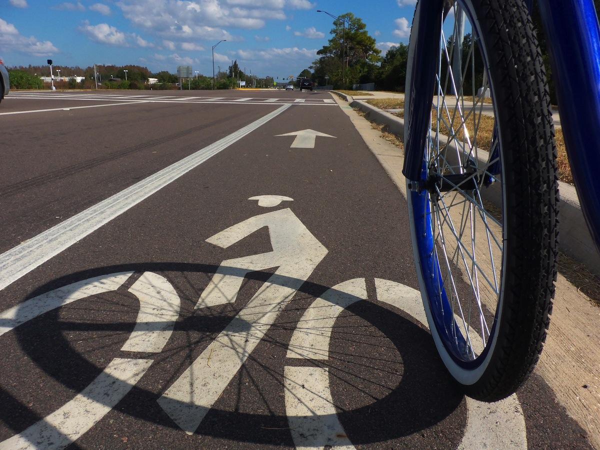 Bike Lane photo Uploaded By Daniel Oines on Flickr