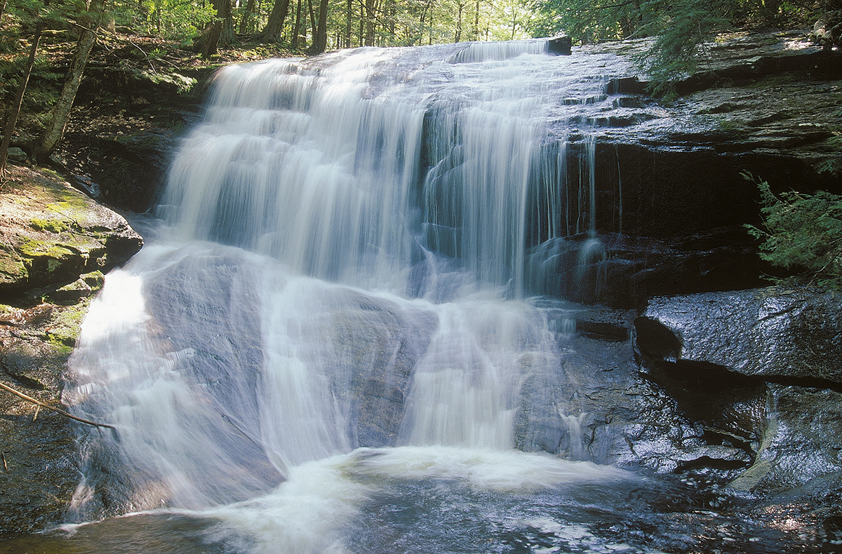Chapel Brook Falls in Ashfield