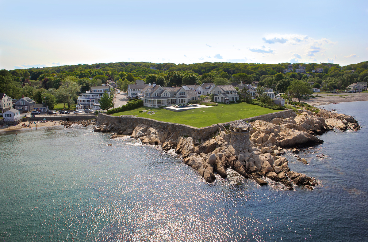 This stunning Brewster residence is one of the largest plots available in Cape Ann (Photo Provided).