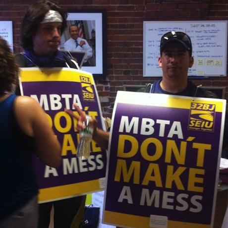 MBTA Janitors