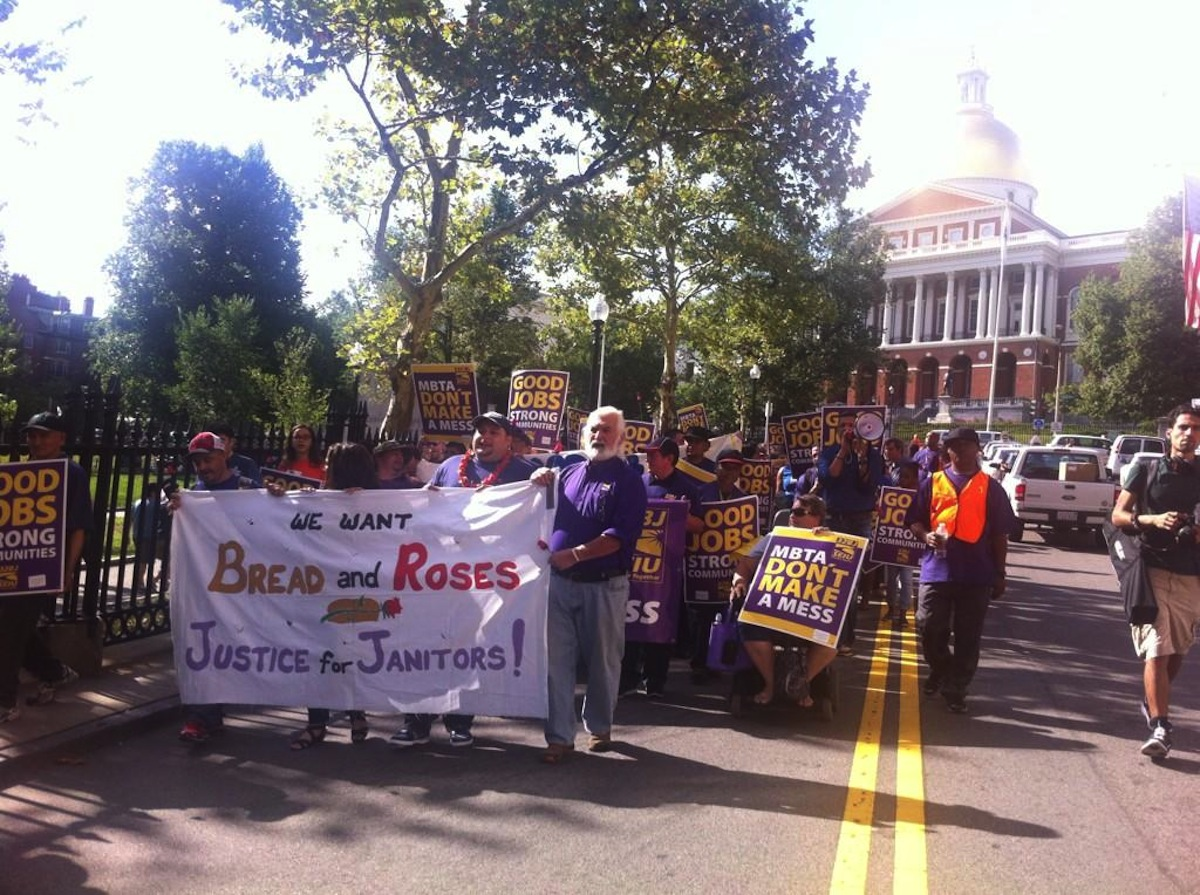 Photo courtesy of 32BJ SEIU.