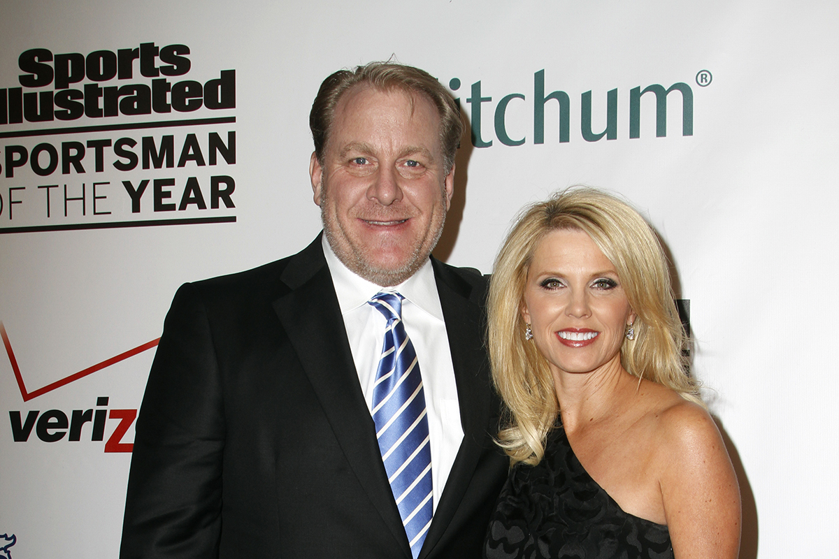 Curt and shonda schilling. Photo by Debbie Wong/Shutterstock