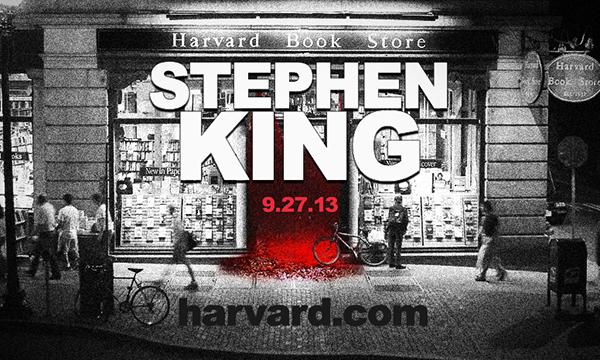 harvard book store stephen king storefront