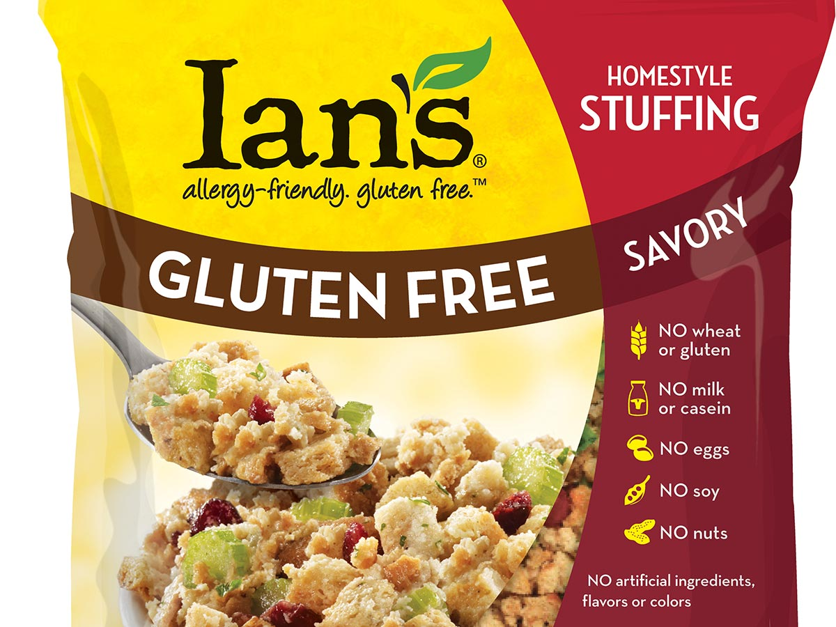 ian's gluten-free, non-gmo stuffing. photo provided.