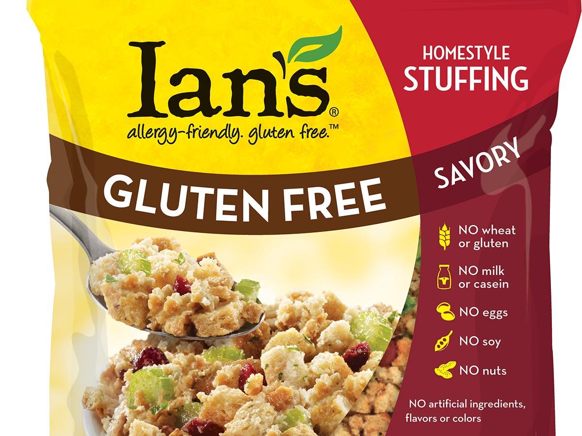 ian's gluten-free, non-gmo stuffing. photo provided.