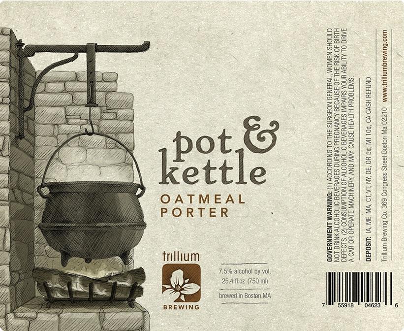 Trillium Pot & Kettle oatmeal porter.