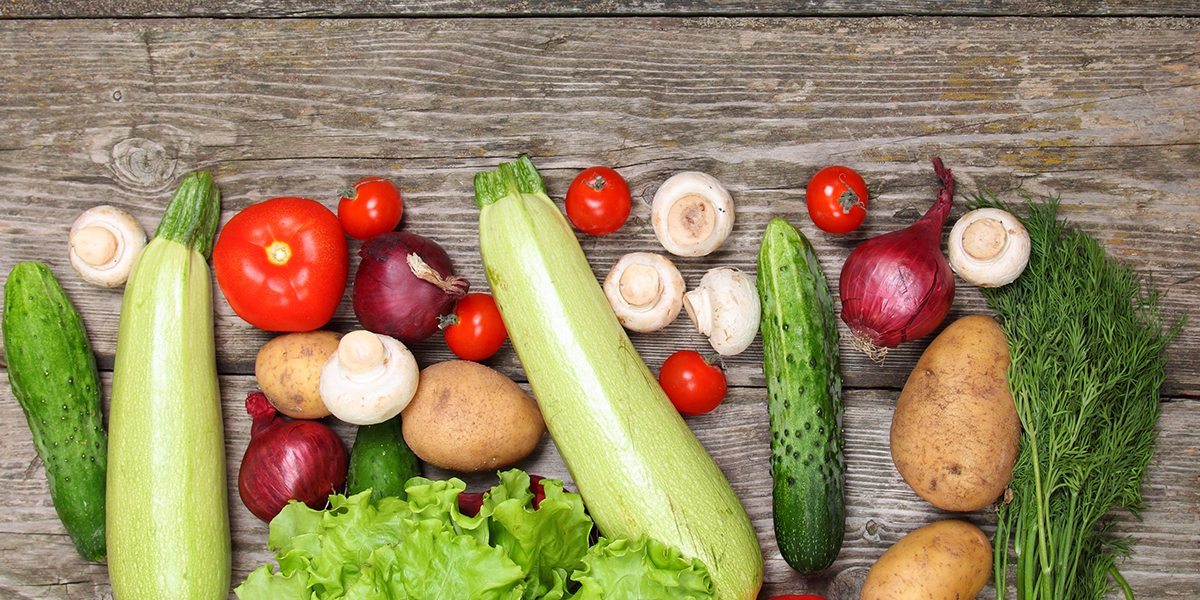 veggies photo via shutterstock