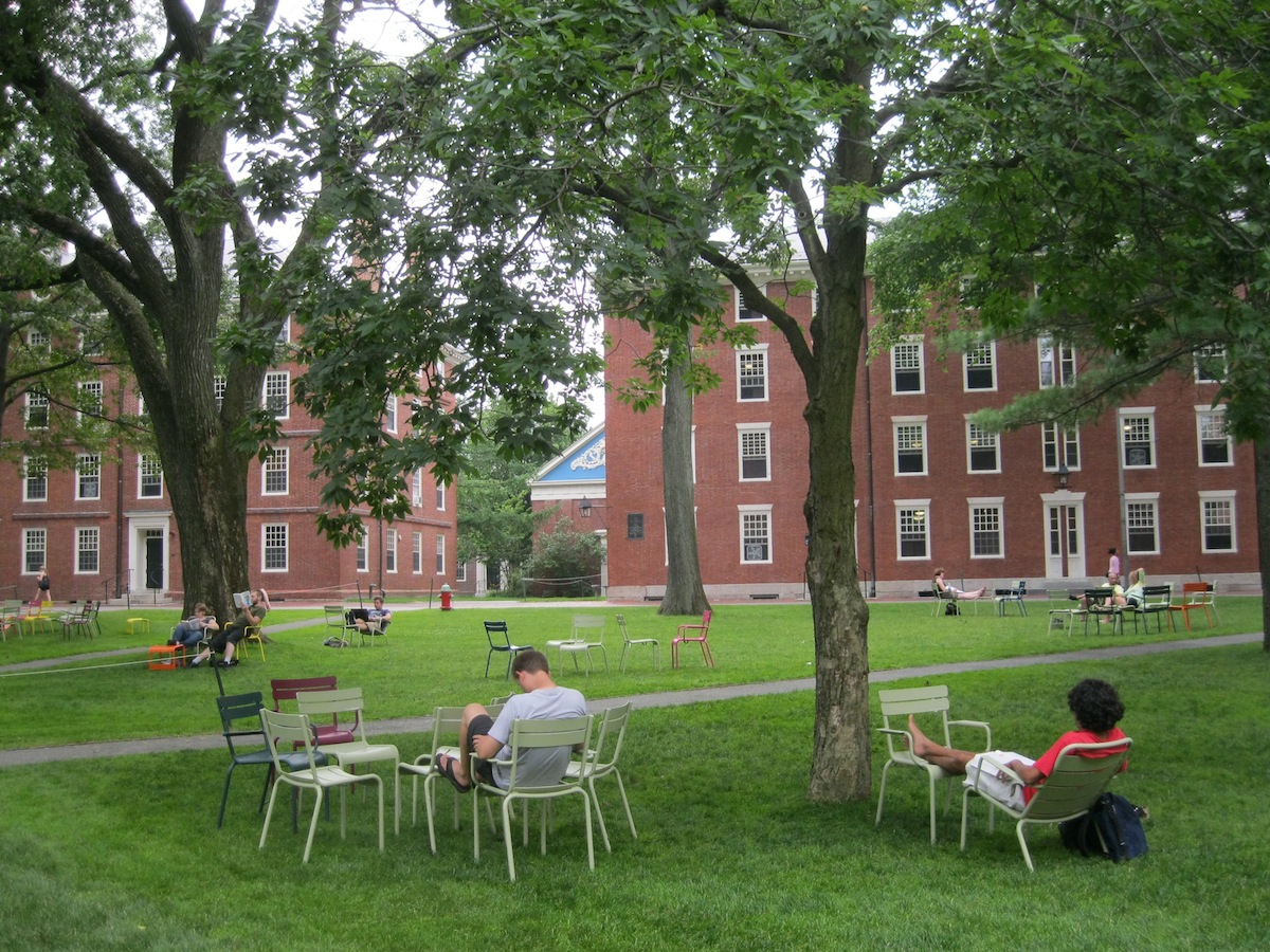 Harvard Yard Photo Uploaded By Suzanne on Flickr