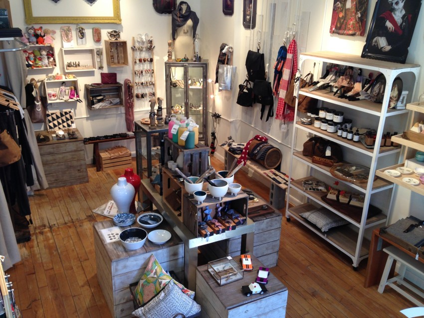 Interior of the South End shop / Courtesy photo.