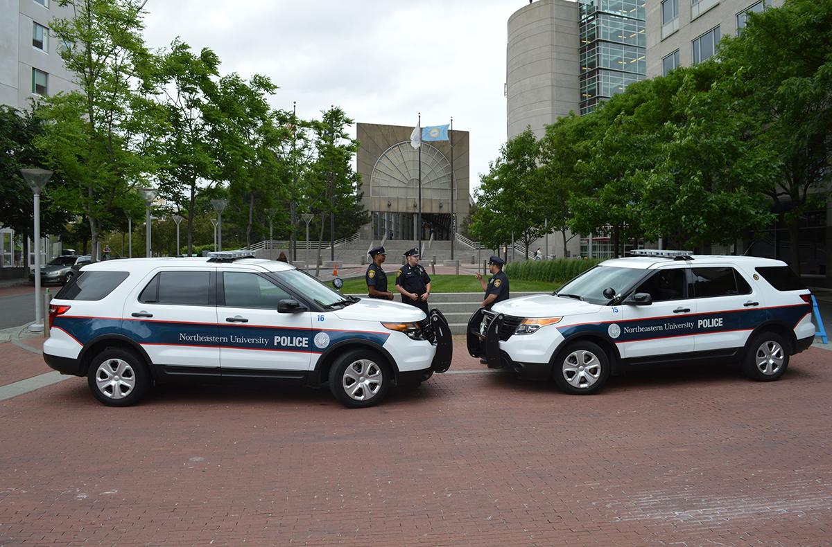 Photo via Northeastern University Police