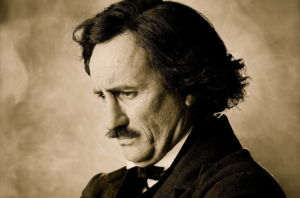 Jeffrey Combs as Edgar Allan Poe/Courtesy Photo
