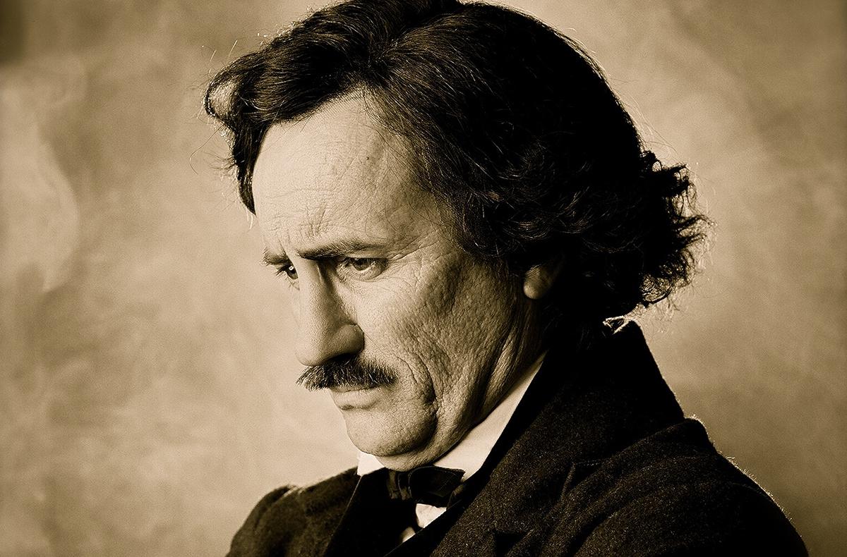 Jeffrey Combs as Edgar Allan Poe/Courtesy Photo