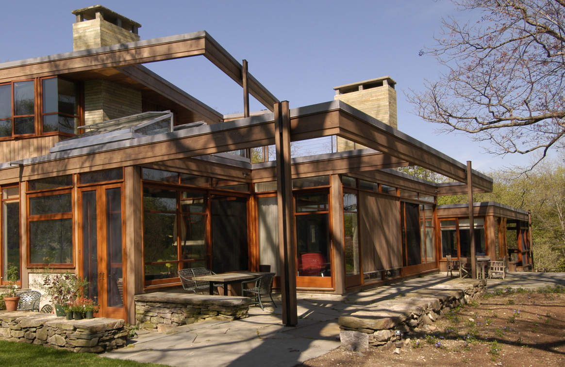 THIS GEOTHERMAL GLASS AND STEEL HOME IN BELMONT, DESIGNED BY MARY THOMPSON ARCHITECTS, IS ONE OF S+H CONSTRUCTION'S MOST MEMORABLE, SAYS DOUG HANNA. PHOTO PROVIDED.
