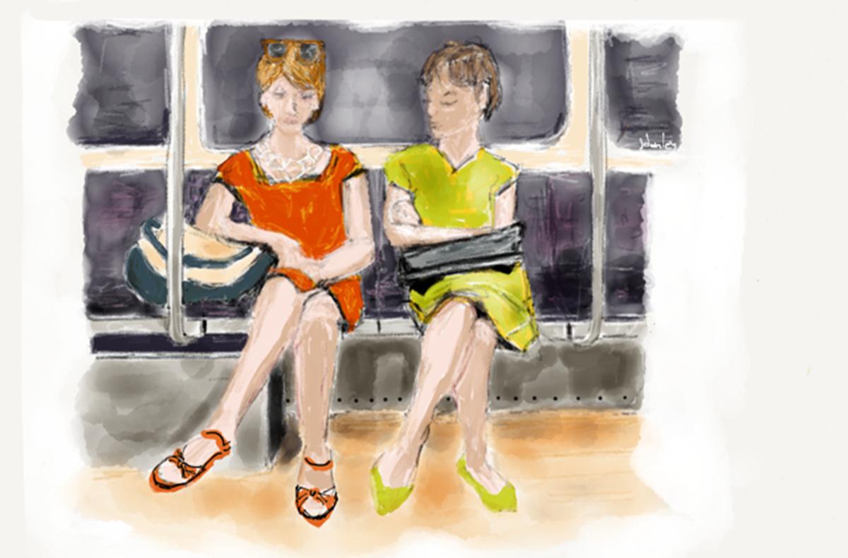 Train Drawing