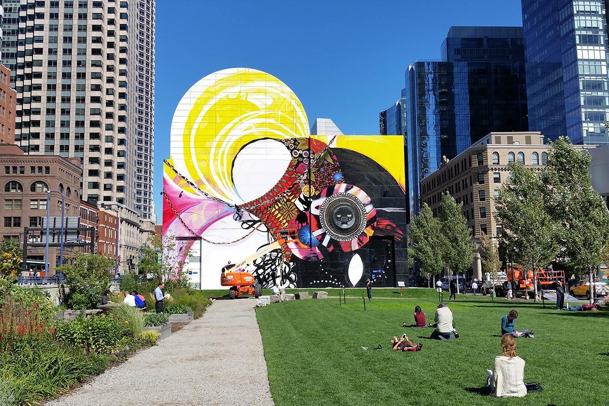 dewey square mural shinique smith