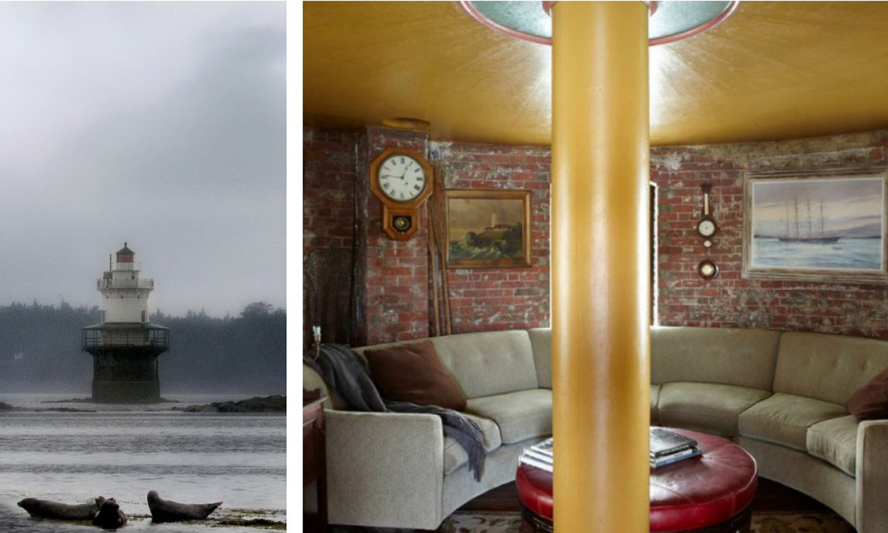 Lighthouse Bedroom Decor Five New England Lighthouses To Rent