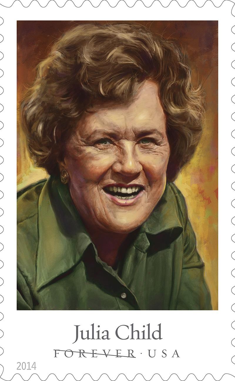 julia child stamp
