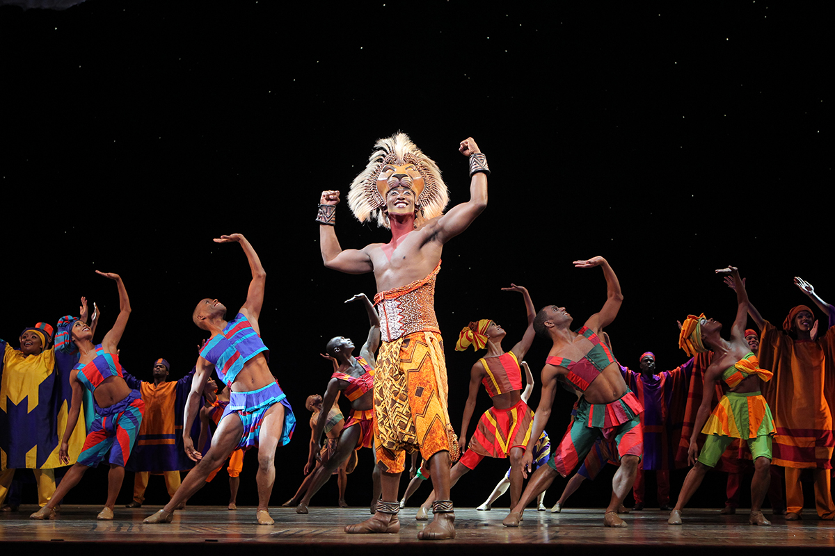 Lion King image provided by Broadway In Boston