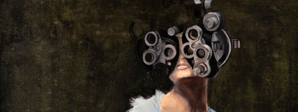 EyeSee (detail) by Shari Weschler Rubeck. / Via Nave Gallery
