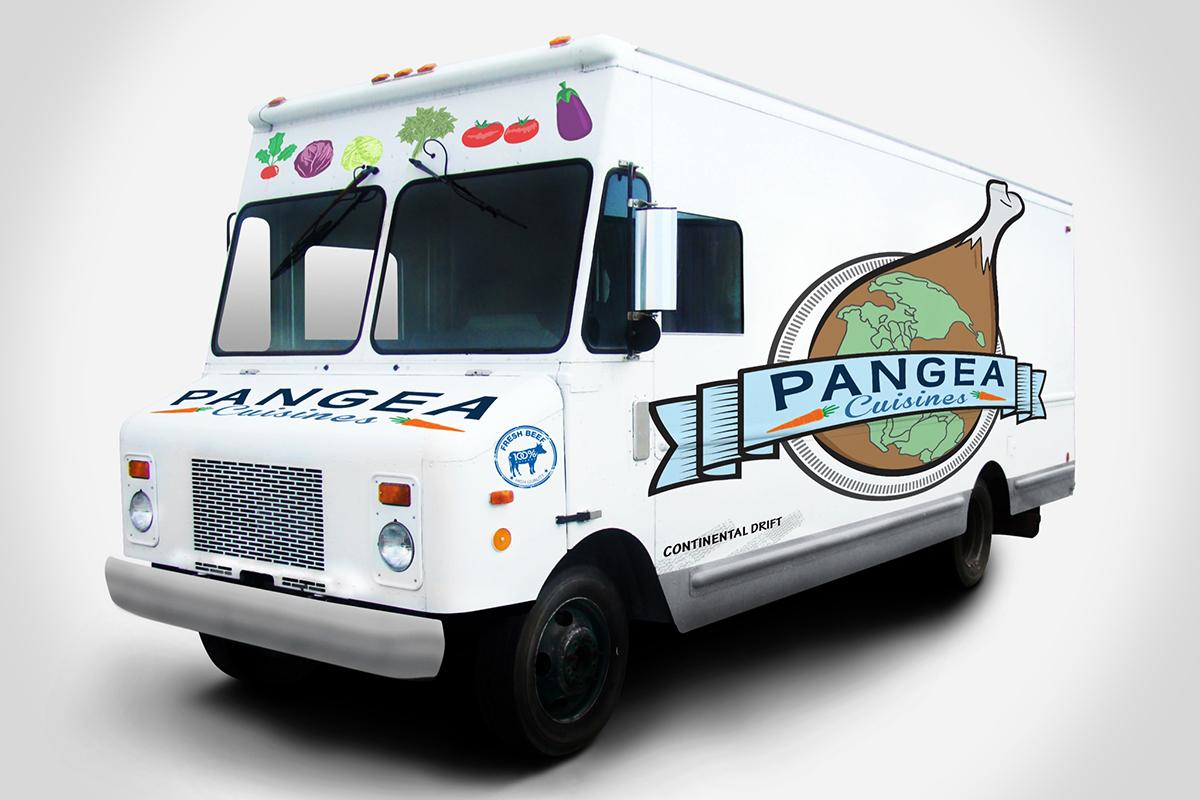 Pangea food truck