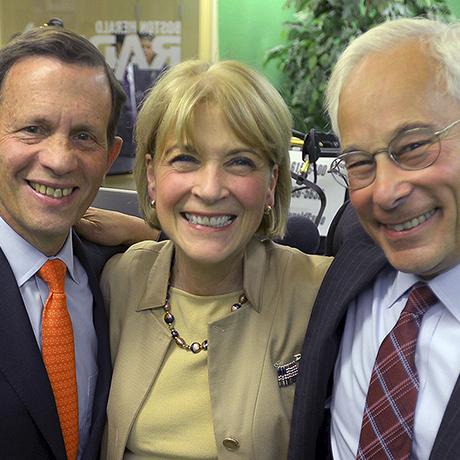 Martha Coakley, Donald Berwick and Steven Grossman