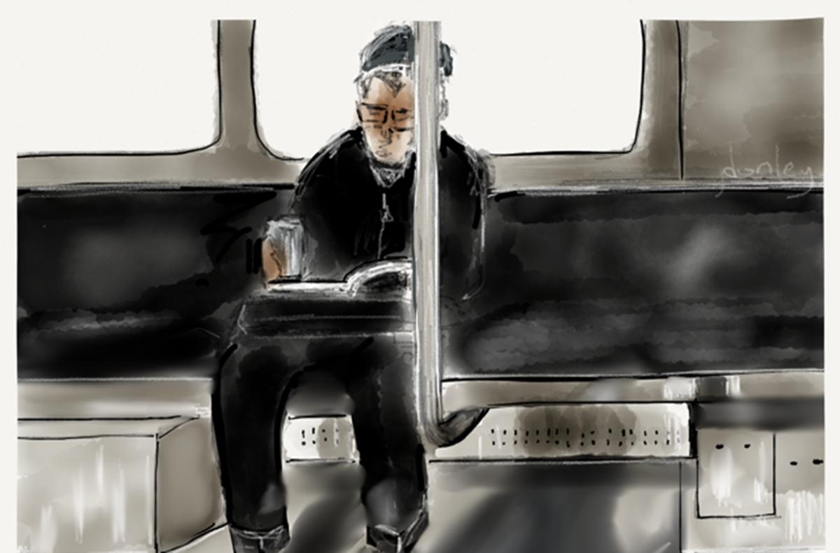 train drawing 2