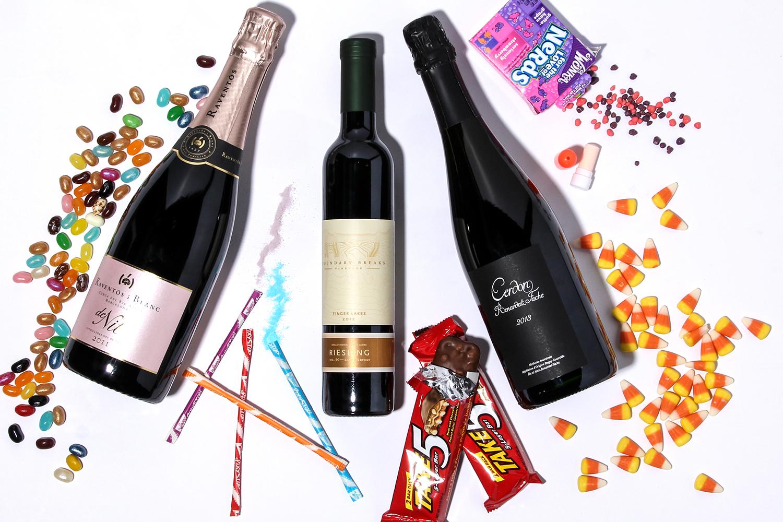 wine halloween candy