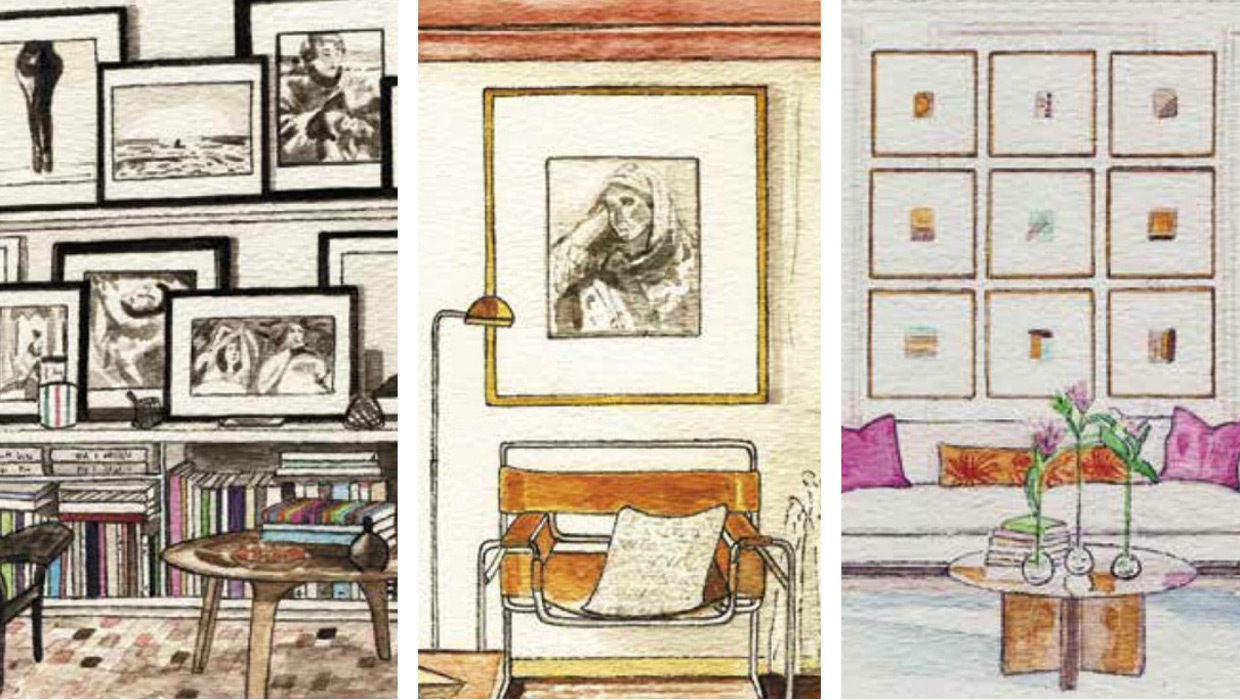 How To Hang Art With Designer Erin Gates