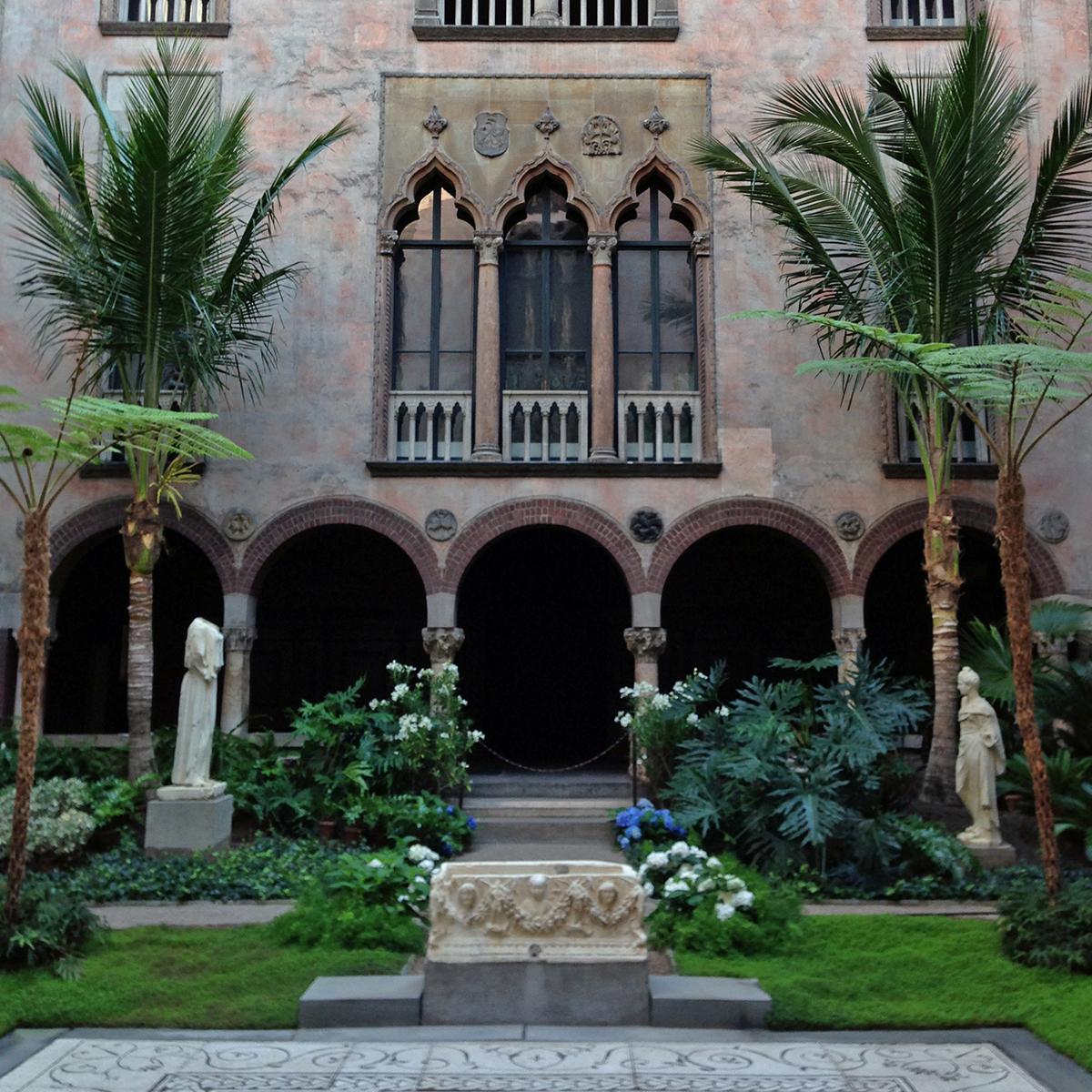 isabella stewart gardner museum courtyard
