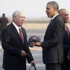 Barack Obama, Thomas Menino, Deval Patrick