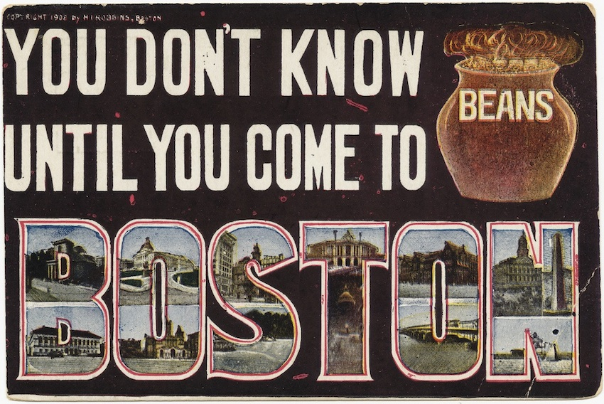 Postcard by Boston Public Library on Flickr.