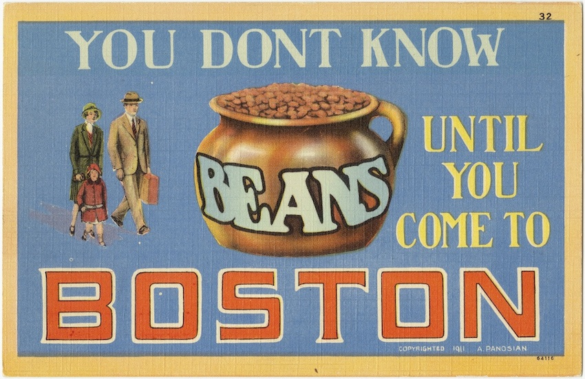 Postcard by Boston Public Library on Flickr