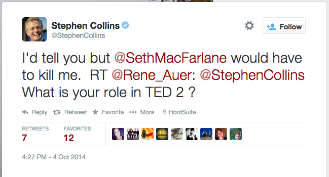 stephen collins ted 2 tweet