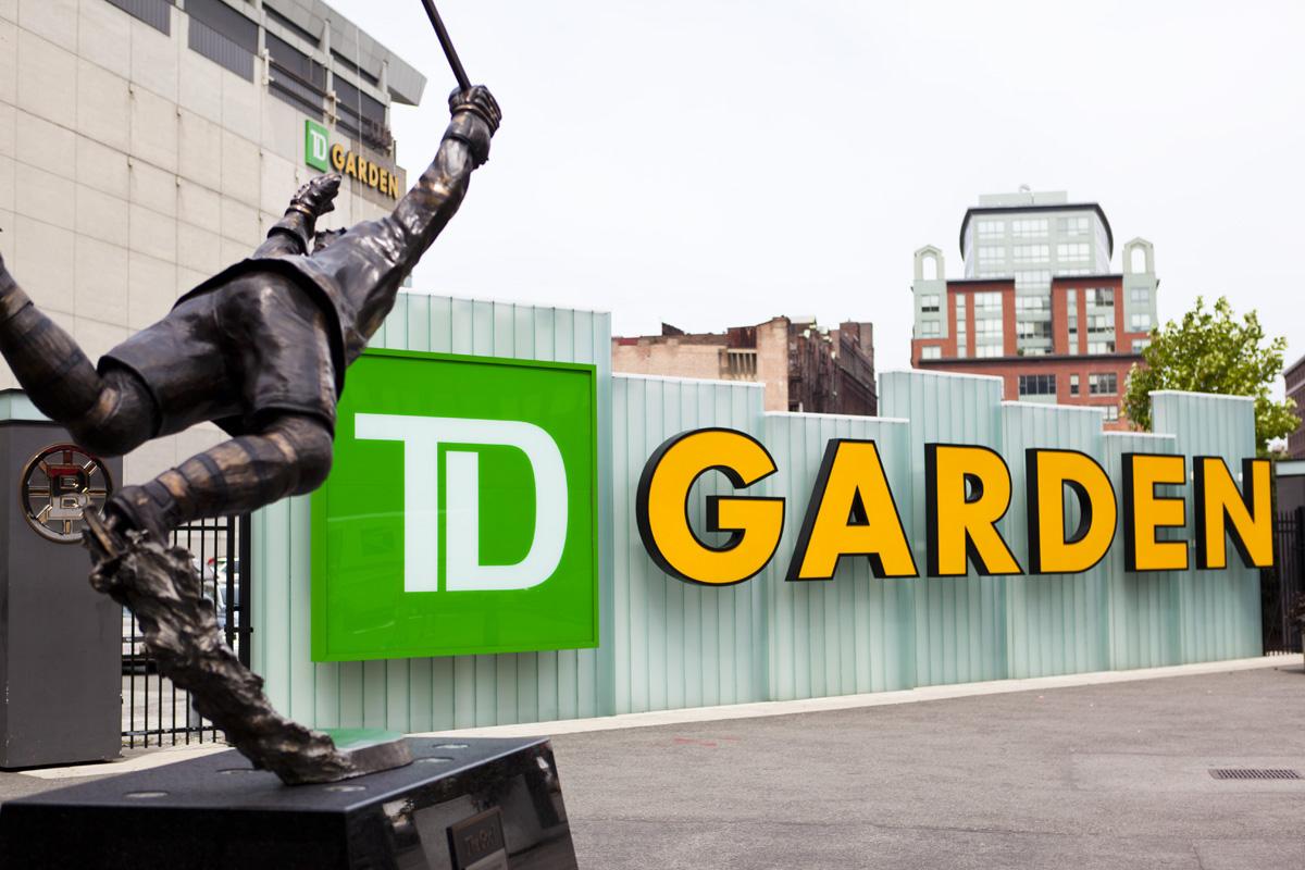 td garden - Td Garden