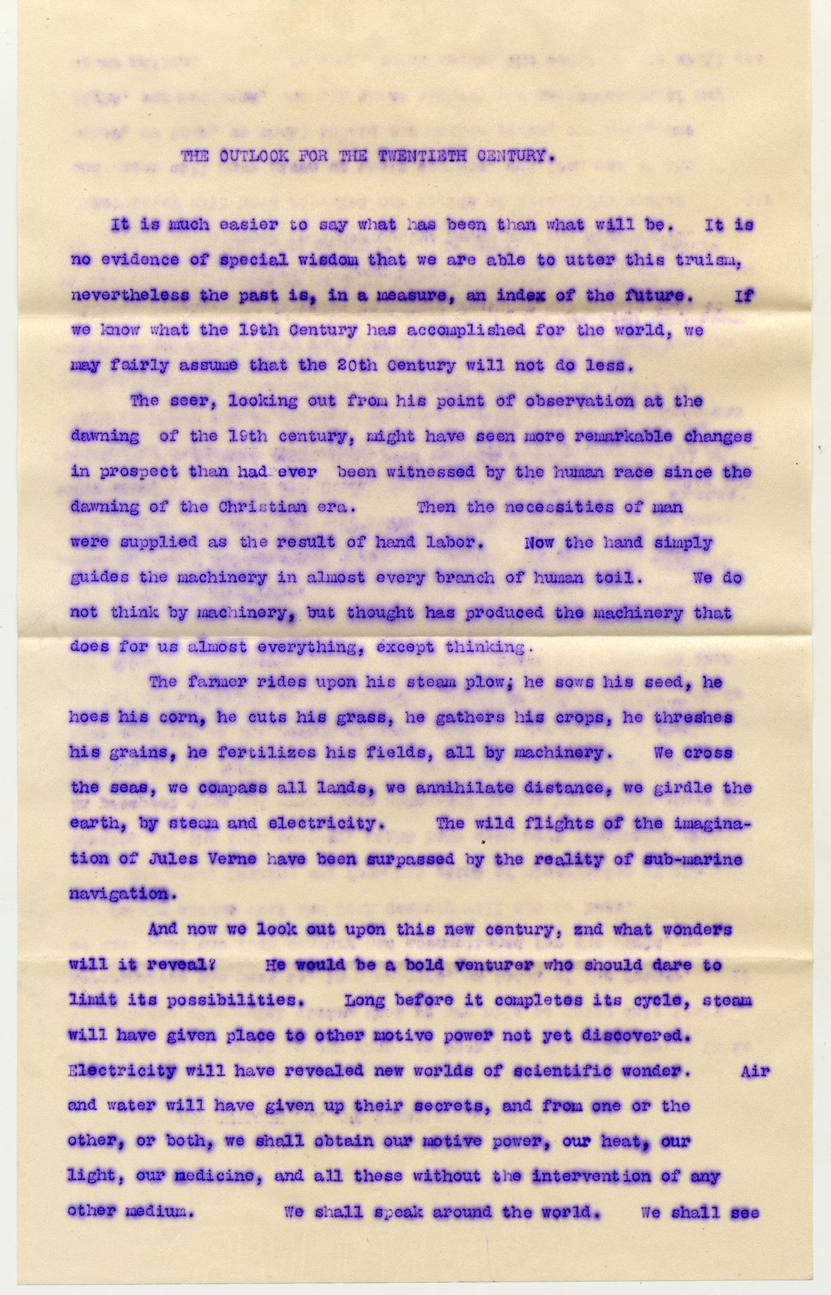 Boston Traveler letter page 1