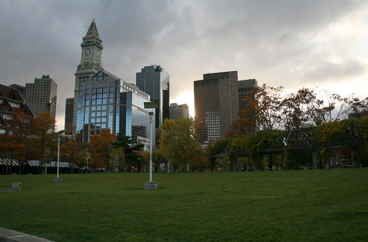 Christopher Columbus Park Photo Uploaded by Cliff on Flickr