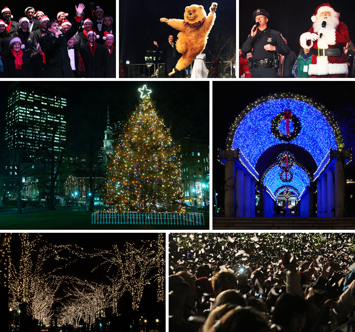 holiday events boston