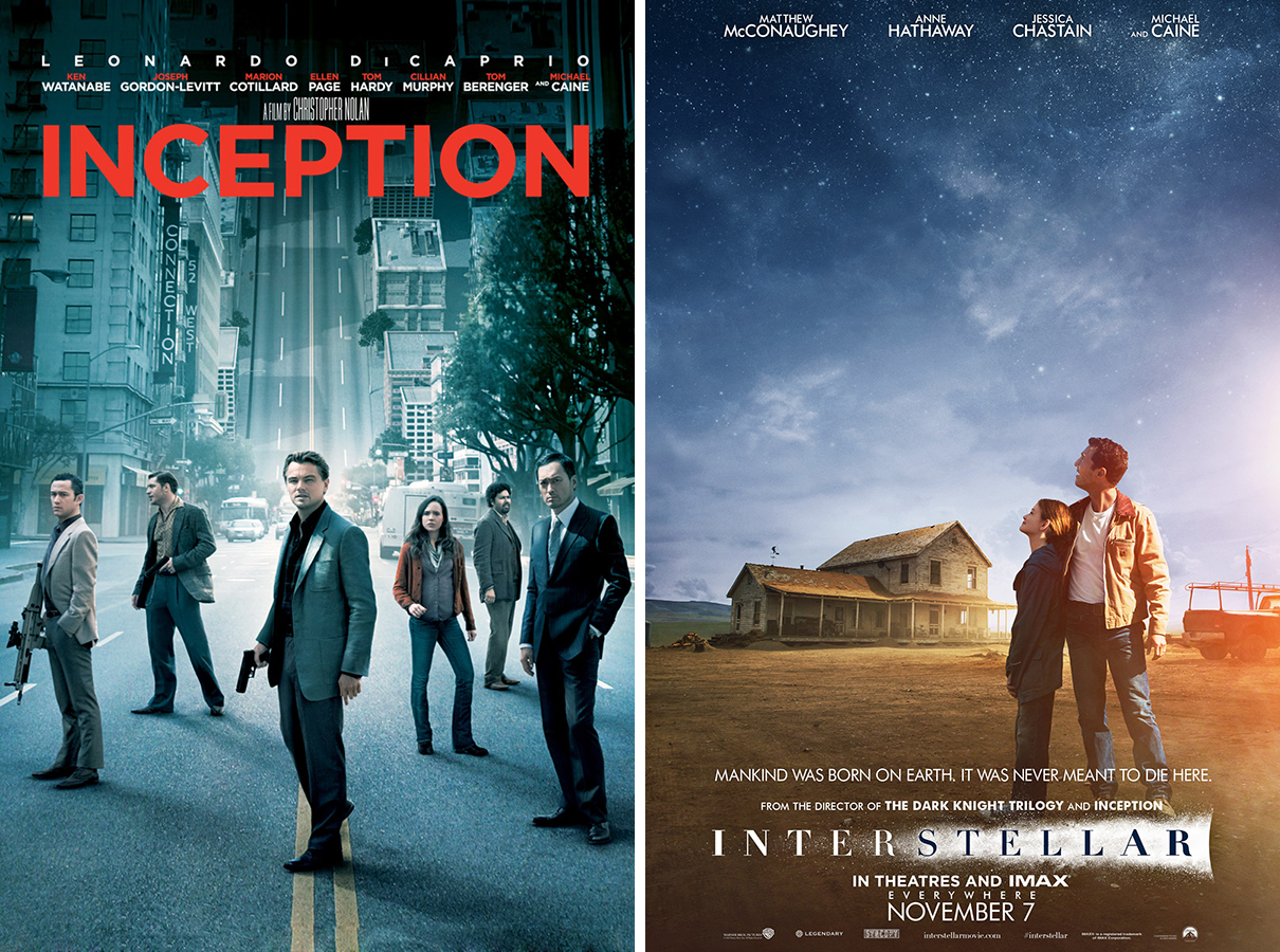 Interstellar vs. Inception
