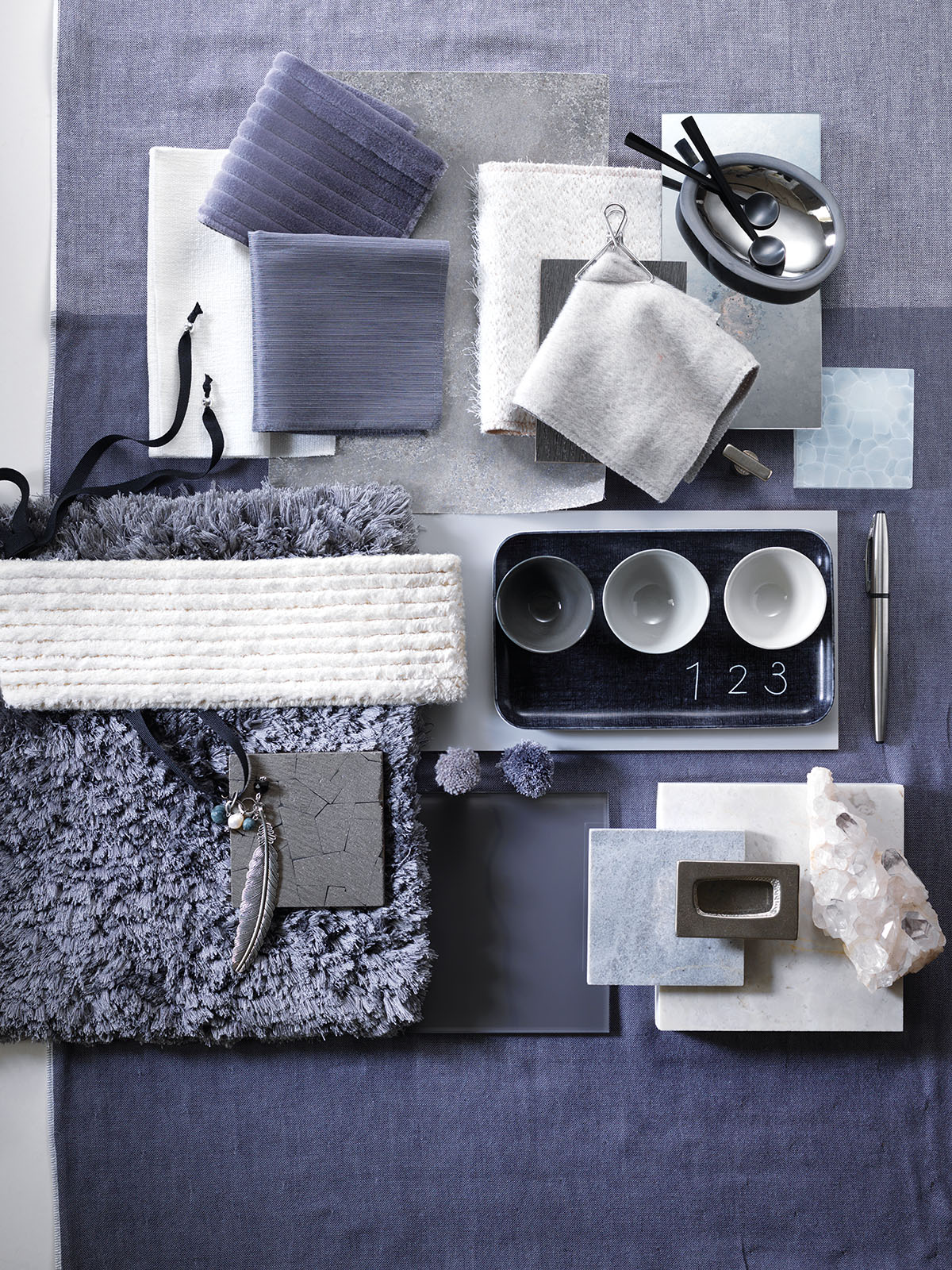 Shades Of Winter Three Lush Design Inspiration Boards