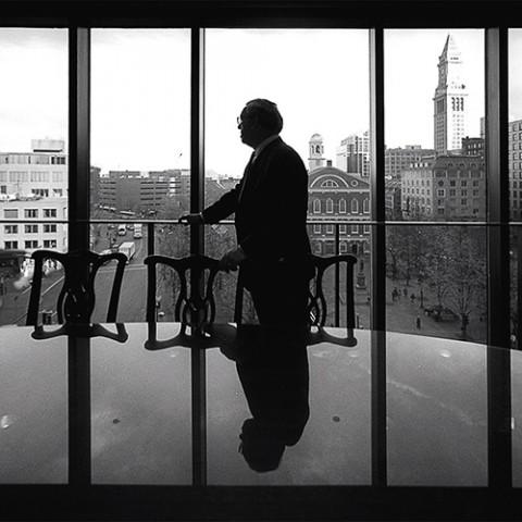 Mayor Menino In His Office