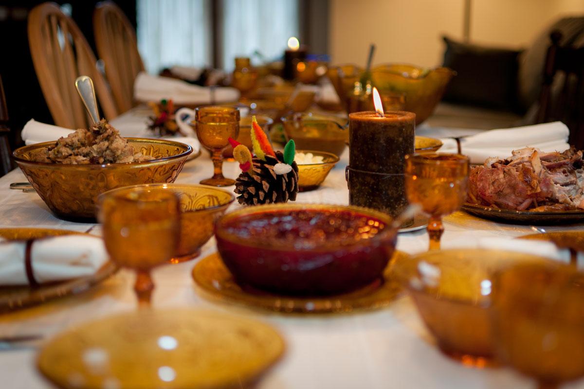 Thanksgiving photo via Flickr/VXLA