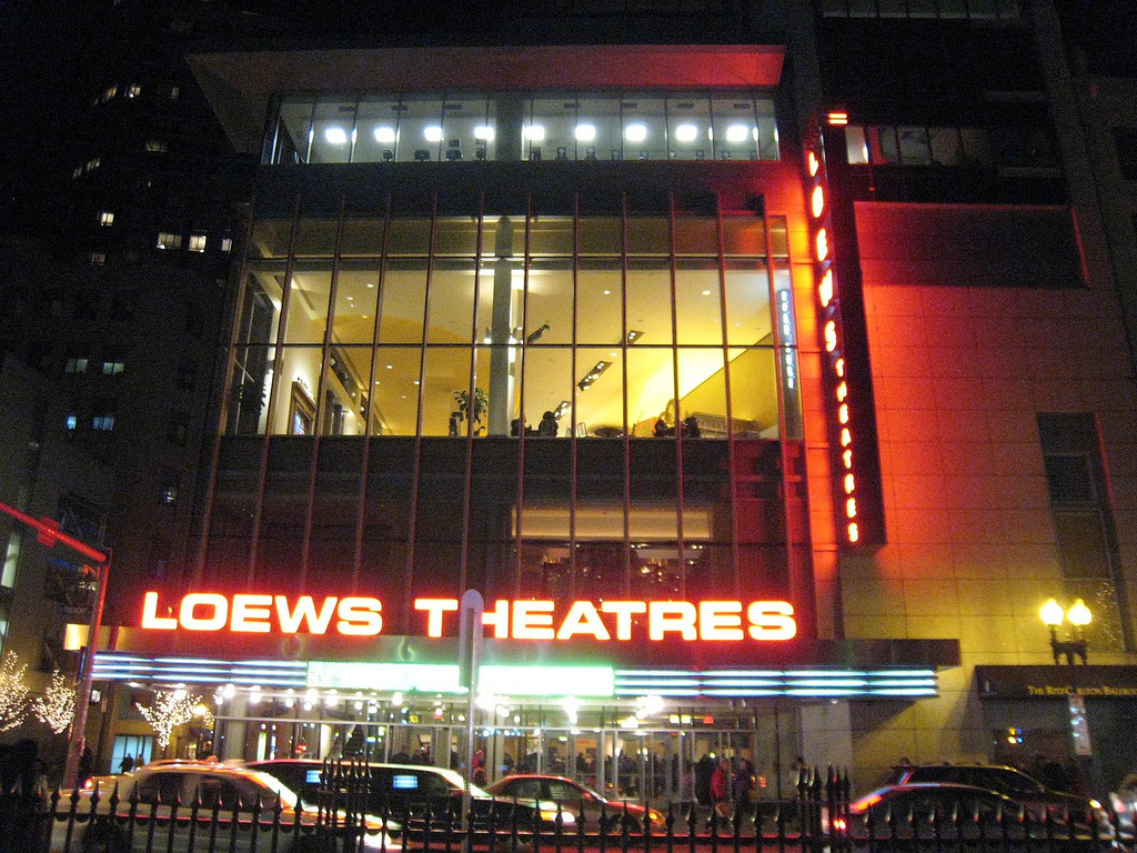 AMC Loews theater by bwchicago on Flickr