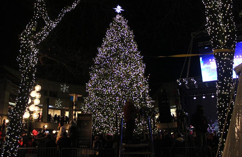 blink light show boston