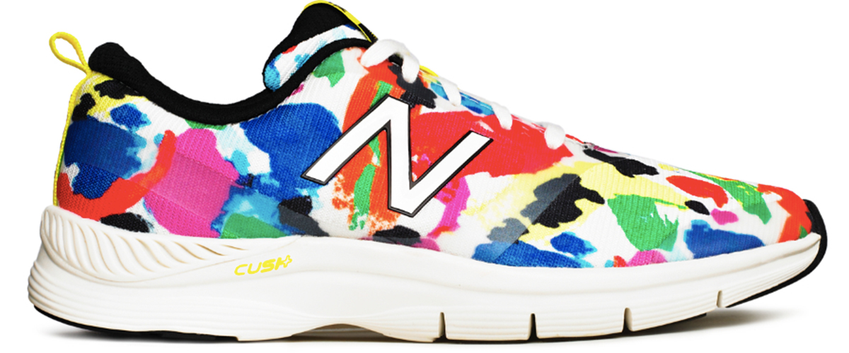 One of four styles available Kate Spade saturday and New Balance. Photos provided.