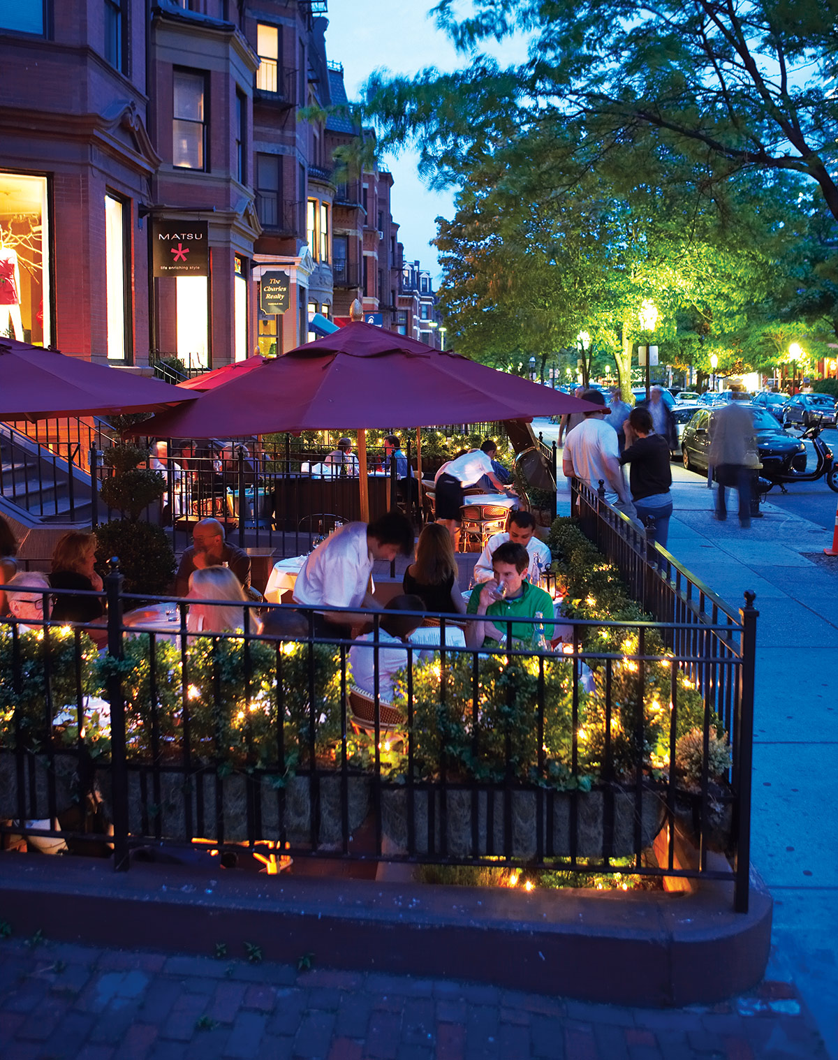 al fresco dining in boston