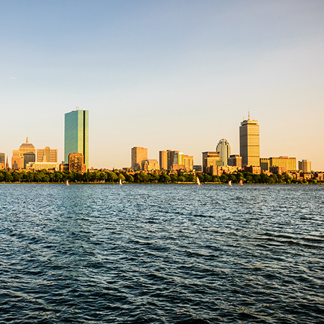 boston skyline sq