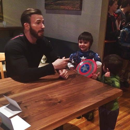 Kids Said the Darndest Things at Chris Evans's Meet-and-Greet