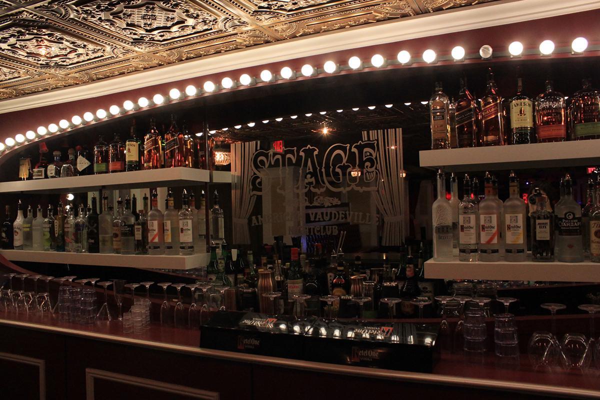 Stage American Vaudeville Nightclub Boston 2