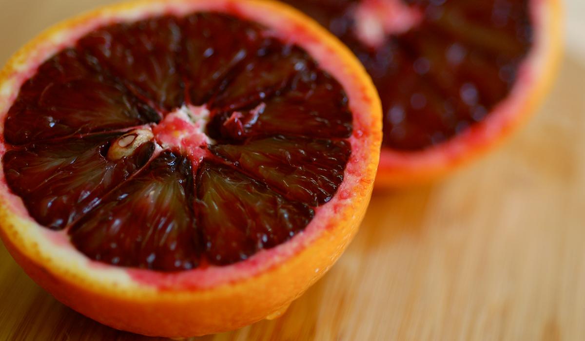 Blood orange image via Flickr/sweetbeetandgreenbean/
